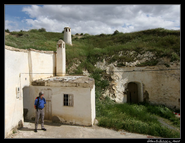 Andalucia - Cave dwellings at Guadix