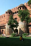Red fort of Agra - Amar Singh gate