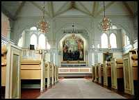 Jokkmokk - church. Note the healthy looking apostles